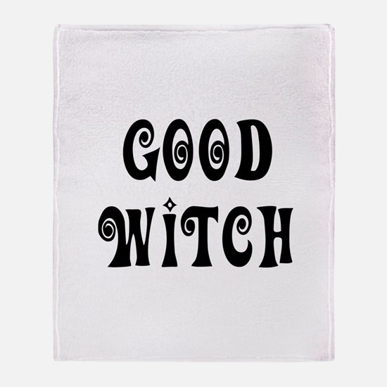 Good Witch Throw Blanket