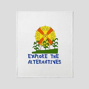 Alternative Energy Throw Blanket