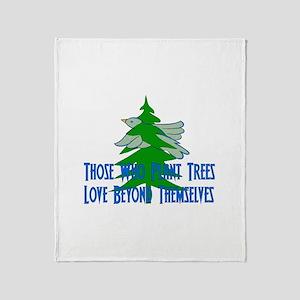 Treehugger Gift Throw Blanket