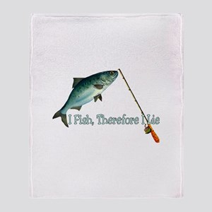 Fisherman Shirt Throw Blanket
