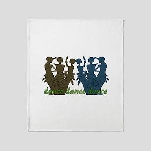 Dance Dance Dance Throw Blanket