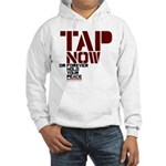 Tap Now, Hold Your peace BJJ Hooded Sweatshirt