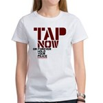 Tap Now, Hold Your peace BJJ Women's T-Shirt