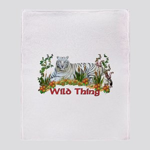 Wild Thing Throw Blanket