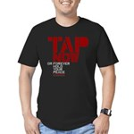 Tap Now or Hold Your Peace Men's Fitted T-Shirt (d
