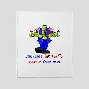 Huckabee GOP Monster Throw Blanket