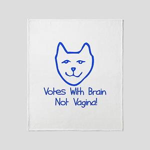 Anti-Palin Voter Throw Blanket