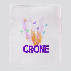 Crone Throw Blanket