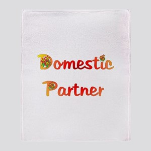 Domestic Partner Throw Blanket