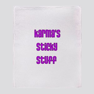 Karma Throw Blanket