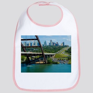 Austin Texas Skyline Bridge Bib