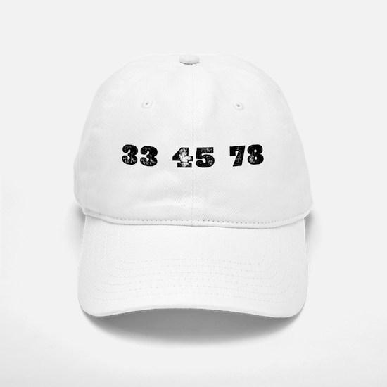 Revolutions per minute Baseball Baseball Cap