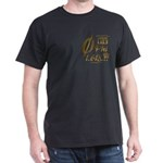 Phi Collage Small Gradient Black T-Shirt