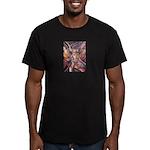 African Antelope 1 Men's Fitted T-Shirt (dark)