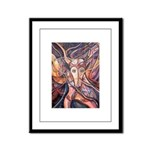 African Antelope 1 Framed Panel Print