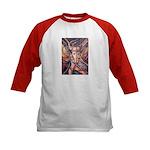 African Antelope 1 Kids Baseball Jersey