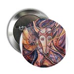 "African Antelope 1 2.25"" Button"