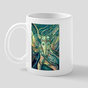 African Antelope Green Mug