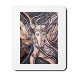 African Antelope Ivory Mousepad