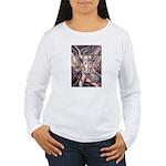 African Antelope Ivory Women's Long Sleeve T-Shirt