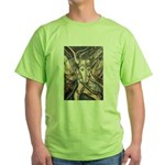 African Antelope Ivory Green T-Shirt