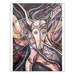 African Antelope Ivory Small Poster