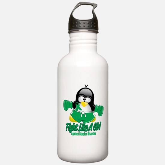 Bipolar Disorder Fighting Pen Water Bottle
