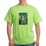 African Antelope Blue Green T-Shirt