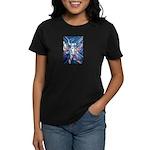 African Antelope Blue Women's Dark T-Shirt