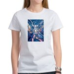 African Antelope Blue Women's T-Shirt