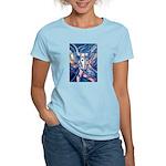 African Antelope Blue Women's Light T-Shirt
