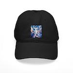 African Antelope Blue Black Cap