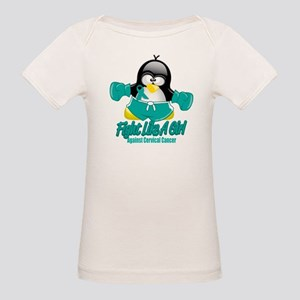 Cervical Cancer Fighting Peng Organic Baby T-Shirt