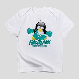 Cervical Cancer Fighting Peng Infant T-Shirt