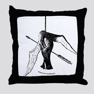 Rime of the Ancient Mariner: Throw Pillow