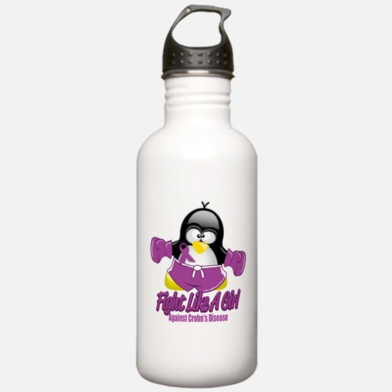 Crohn's Disease Fighting Peng Sports Water Bottle