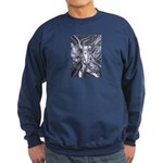 African Antelope B&W Sweatshirt (dark)