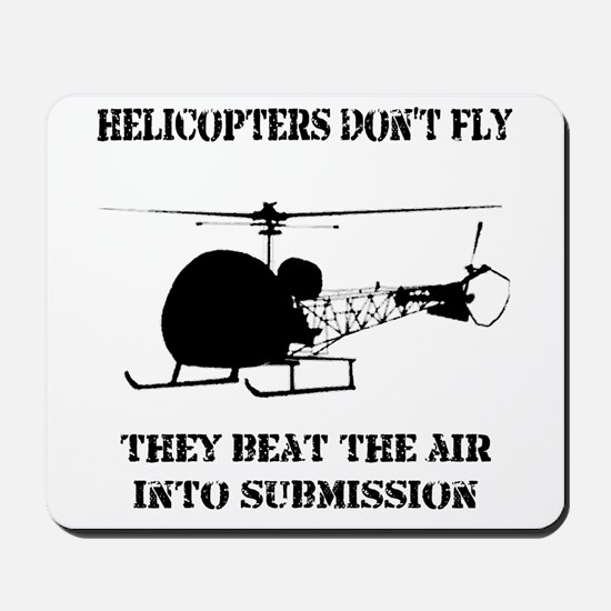 Helicopter Submission Mousepad