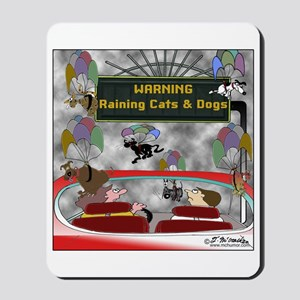 Raining Cats & Dogs Mousepad