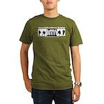 BMV Flag Organic Men's T-Shirt (dark)