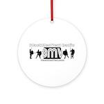 BMV Flag Ornament (Round)