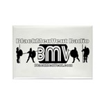 BMV Flag Rectangle Magnet (100 pack)