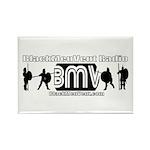 BMV Flag Rectangle Magnet (10 pack)