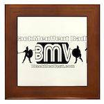 BMV Flag Framed Tile