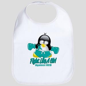 OCD Fighting Penguin Bib