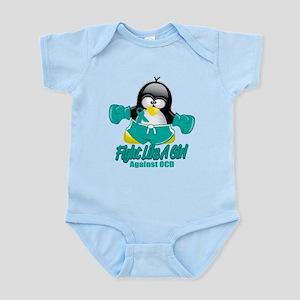 OCD Fighting Penguin Infant Bodysuit