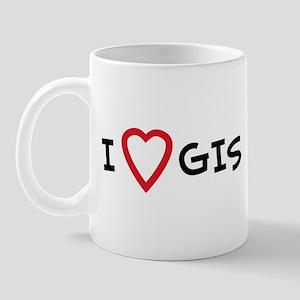 I Love GIS Mug