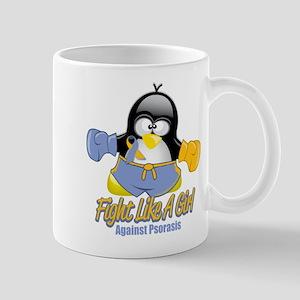 Psoriasis Fighting Penguin Mug