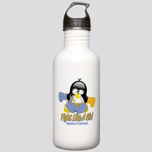 Psoriasis Fighting Penguin Stainless Water Bottle