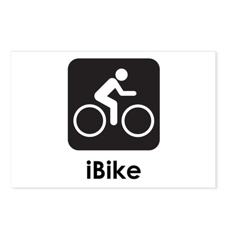 iBike Postcards (Package of 8)